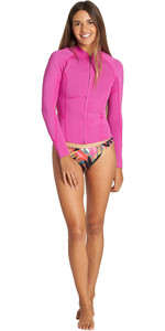 2019 Billabong Womens Peeky 1mm Neoprene Jacket Orchid Haze Q42G05