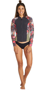 2019 Chaqueta De Neopreno Peeky De 1mm Mujer Billabong Tropical Q42g05