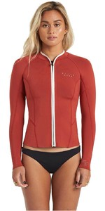 2020 Billabong Womens Peeky 2mm Neoprene Jacket U42G35 - Sienna