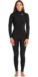 2019 Billabong Vrouwen Salty Dayz 3/2mm Chest Zip Wetsuit Golf N43g30