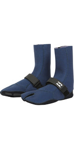 Billabong Salty Døs 3mm Split Toe Støvler Blue Swell L4bt23