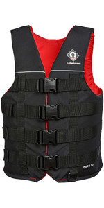 2020 Crewsaver Four Buckle 70N Buoyancy Aid / Ski Vest Black 2975