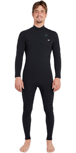 2019 Billabong Furnace Carbono Comp 3/2mm Ziperless Wetsuit Preto L43m03
