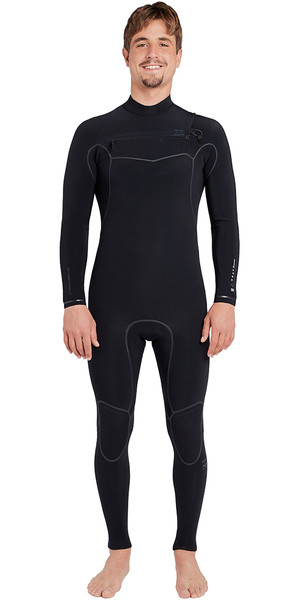 2018 Billabong Furnace Carbon Ultra 5/4mm Chest Zip Wetsuit Black L45M01