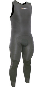 2019 Gul Code Zero Elite 3mm BS Long John Impact Wetsuit & Pads Black CZ4217-B5