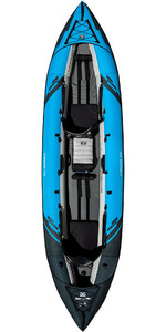 2020 Aquaglide Chinook 120 3 Man Kayak Blue - Solo Kayak