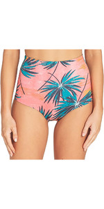 2019 Billabong Dames 1mm Hightide Retro Neopreen Shorts Coral Bay N41G08