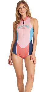 Billabong Womens 1mm Sleeveless Spring Wetsuit Coral Sands L41G02