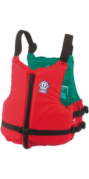 2018 Crewsaver Center 70N Zip Buoyancy Aid ROJO 2359 Color codificado en el interior por talla