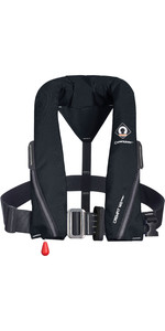 2020 Crewsaver Crewfit 165N Sport Automatic Harness Lifejacket 9715BLA - Black