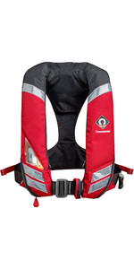 2019 Crewsaver Crewfit 180N Pro Heavy Duty Autmatic Lifejacket With Harness Red 9025HDA