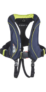 2021 Crewsaver ErgoFit+ 190N Automatic Lifejacket With Harness, Light & Hood Navy 9155NBGAP