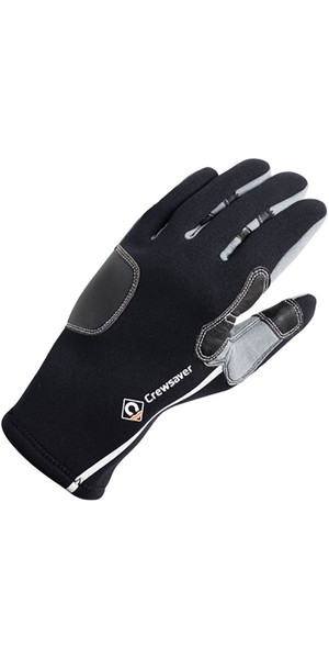 2018 Crewsaver 3mm Tri-Season Gloves Black 6952