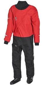 2021 Crewsaver Junior Atacama Drysuit 6557 - Black / Red