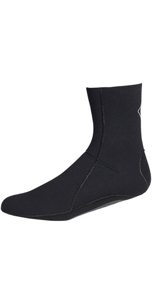 Muta 2018 Crewsaver Slate 3mm in neoprene Sock - NERO 6946