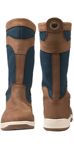2019 Gul Fastnet Deck Boots Tan / Navy DS1005