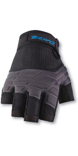 2019 Dakine Half Finger Sailing Gloves Nero 10001750