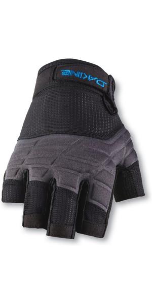 2019 Dakine medio dedo guantes de vela negro 10001750