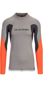 2019 Dakine Herren Heavy Duty Snug Fit Langarm Rash Vest Carbon 10002280