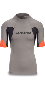 2019 Dakine Herren Heavy Duty Snug Fit Kurzarm Rash Vest Carbon 10002281
