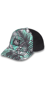 2019 Dakine Lo Tidevands Trucker Hat 10001898 - Turkis Palm