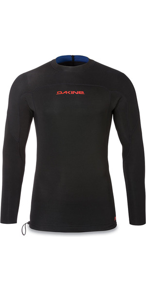 2018 Dakine Long Sleeve 1mm Flatlock Neoprene Top Black 10001649
