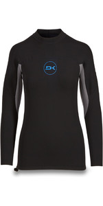 2019 Dakine Homens Manga Comprida 1mm Flatlock Neoprene Top Preto 10002256