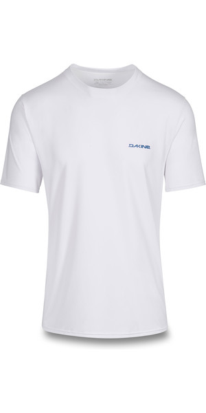 2019 Dakine Mens Heavy Duty Loose Fit Short Sleeve Surf Shirt White 10002279