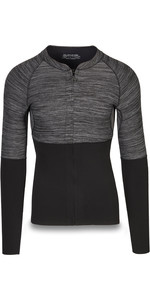 2019 Dakine Mænds Langærmet 2mm Neopren Top Med Front Zip Sort 10002258