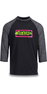 2019 Dakine Herren Roots Raglan Loose Fit 3/4 Ärmel Surf Shirt Cannery 10002311