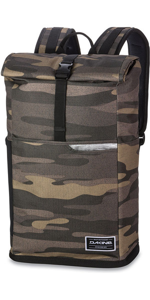 2018 Dakine Section Roll Top Wet / Dry 28L Backpack Field Camo 10001253