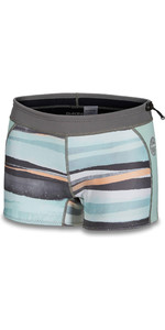 2019 Dakine Frauen 1mm Neopren Boy Shorts 10002324 - Pastellstrom