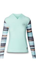 2019 Dakine Dame Flow Loose Fit Hooded Langærmet Rash Vest Pastel 10002328