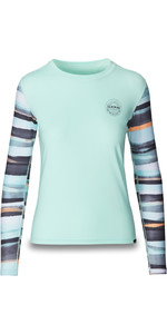 2019 Dakine Dame Flow Loose Fit Long Sleeve Rash Vest Pastel 10002329
