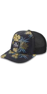 2021 Dakine Lo'tide Trucker Cap Voor Dames 10001898 - Zwart Ananas