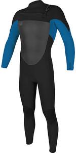 2018 O'Neill O'riginal 3/2mm Chest Zip Wetsuit BLACK / Deep Sea 5011