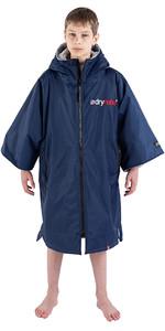 2021 Dryrobe Advance Junior Short Manga Premium Outdoor Change Robe / Poncho Dr100 - Navy / Cinza