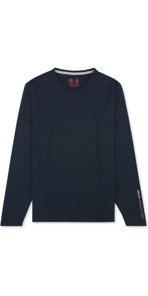 2019 Musto Evolution Sunblock Langærmet T-Shirt Navy EMTS020