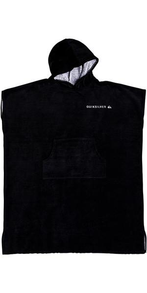2018 Quiksilver Hoody Towel / Change Robe Black EQYAA03712
