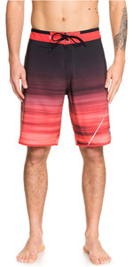 "2019 Quiksilver Mænds Highline New Wave 20 ""boardshorts Hibiscus Eqybs04088"