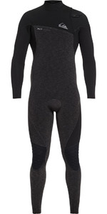 Quiksilver Highline 3/2mm Zipperless Wetsuit Black EQYW103062