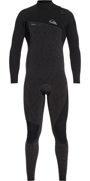 2018 Quiksilver Highline 4 / 3mm Zipperless Wetsuit Preto EQYW103061
