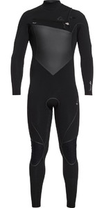 Quiksilver Highline Plus 3/2mm Chest Zip Wetsuit Black EQYW103060
