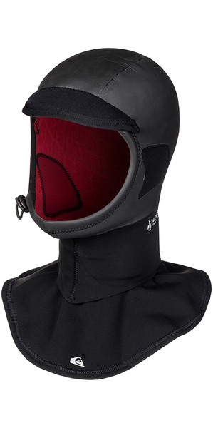 2018 Quiksilver Highline + 2mm Surf Hood schwarz EQYWW03026