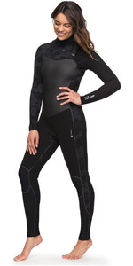 Roxy Womens Performance 4 / 3mm Peito Zip Wetsuit Preto ERJW103032