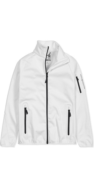 2019 Musto Womens Crew Softshell Jacket Bianco EWJK047