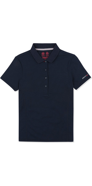 2019 Musto Womens  Evolution Sunblock Polo Navy EWPS006