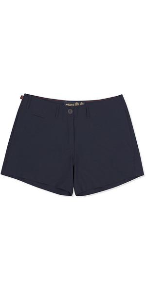 2019 Musto Womens Rib UV Schnell Dry Shorts Navy EWST016
