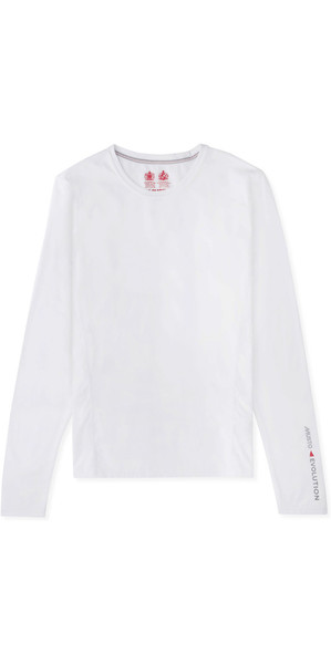 2019 Musto Womens Evolution Sunblock Long Sleeve T-Shirt White EWTS009