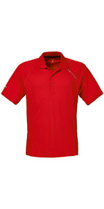 Musto Evolution Sunblock Polo Top Met Korte Mouwen True Red Se0264